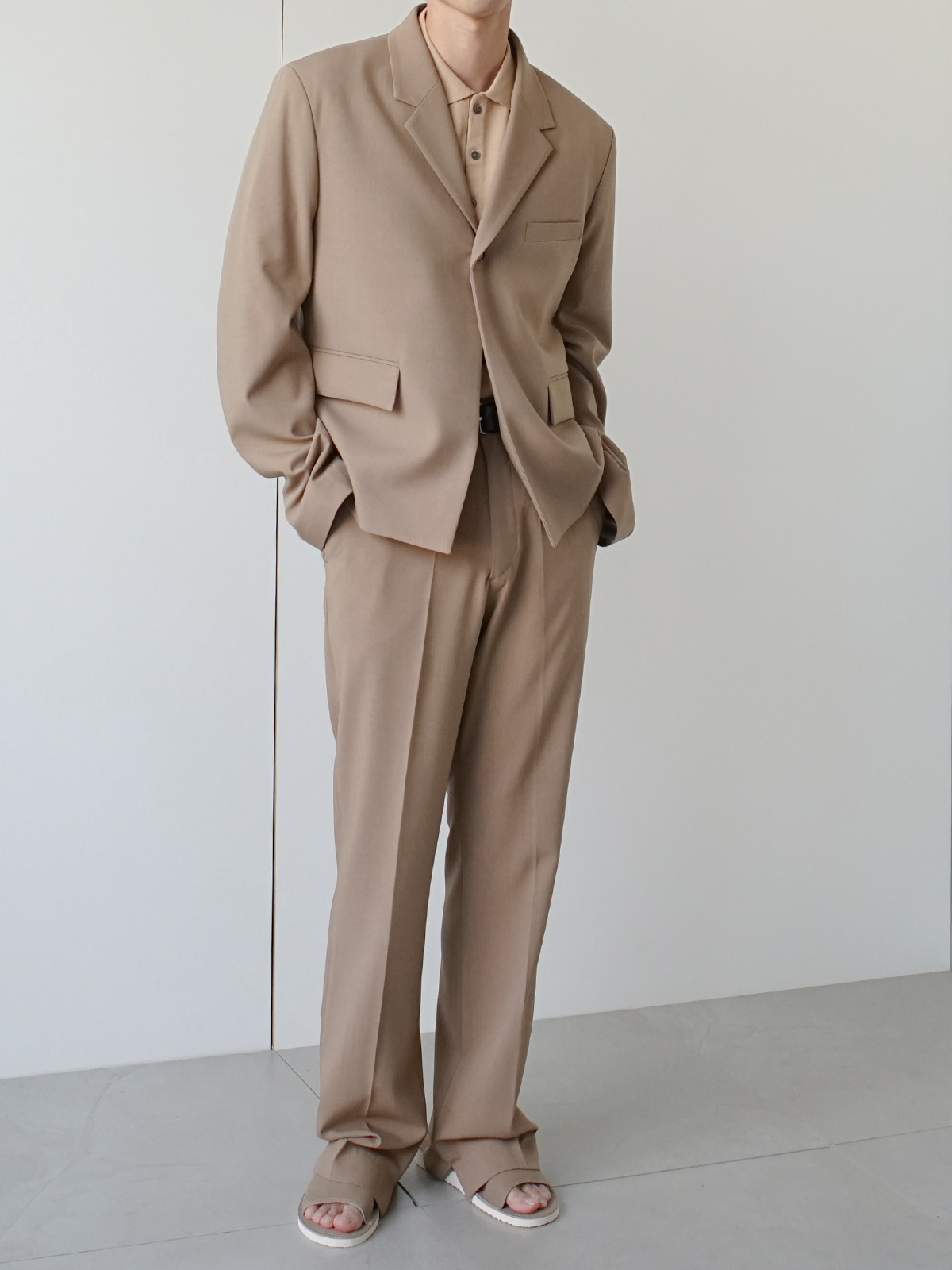 Week Linen Suit Beige