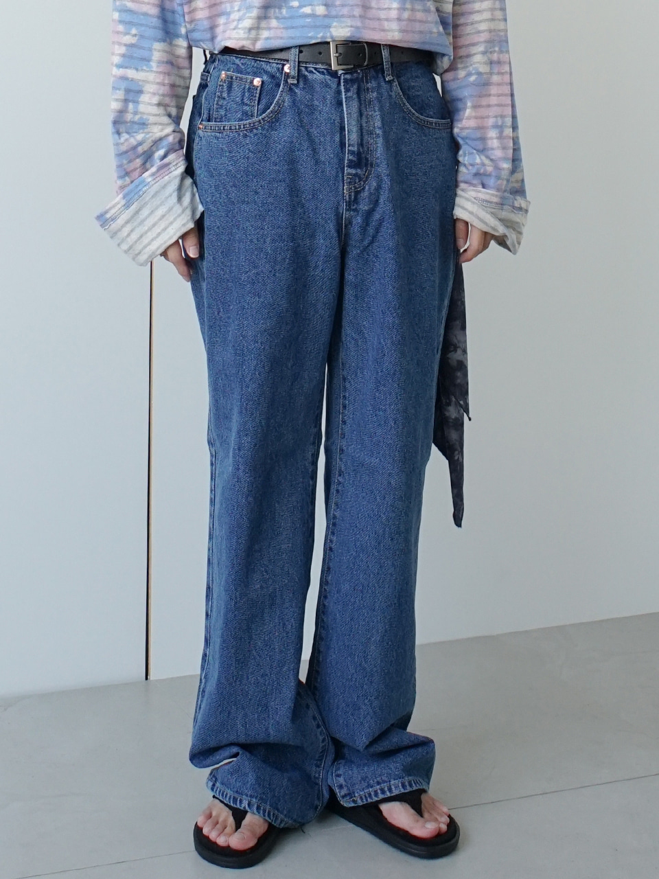 Madeleine Wide Jeans (2color)