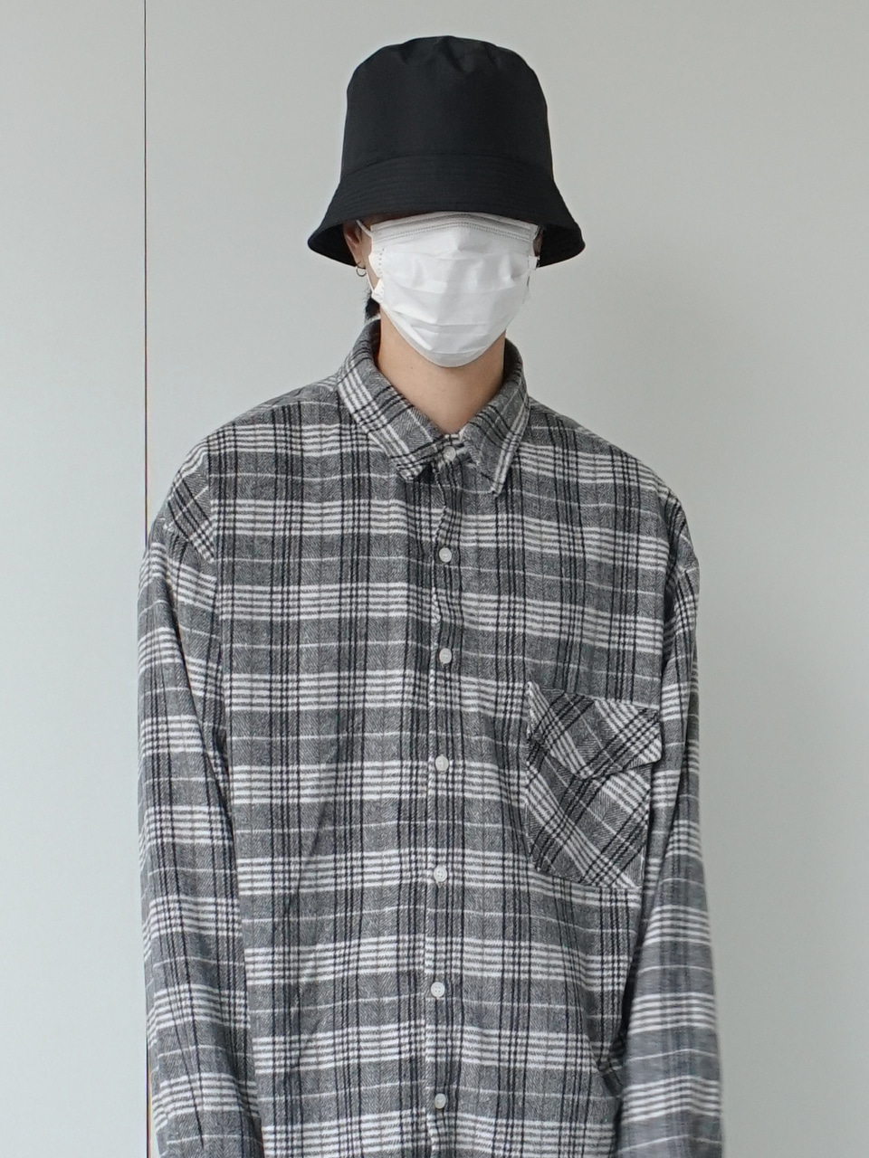 Muly Soft Check Shirt (2color)