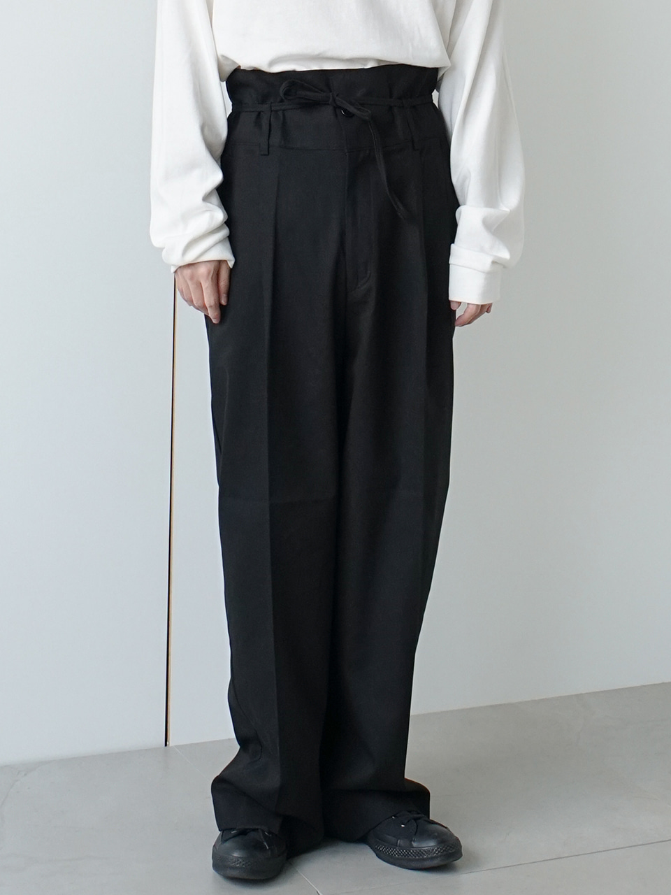 County High Waist Wide Trousers (5color)
