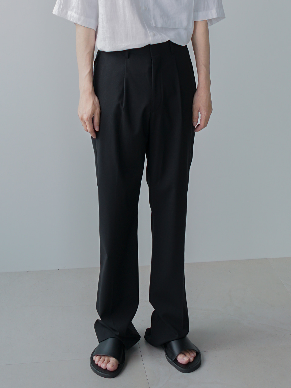 Last Pintuck Summer Trousers (4color)