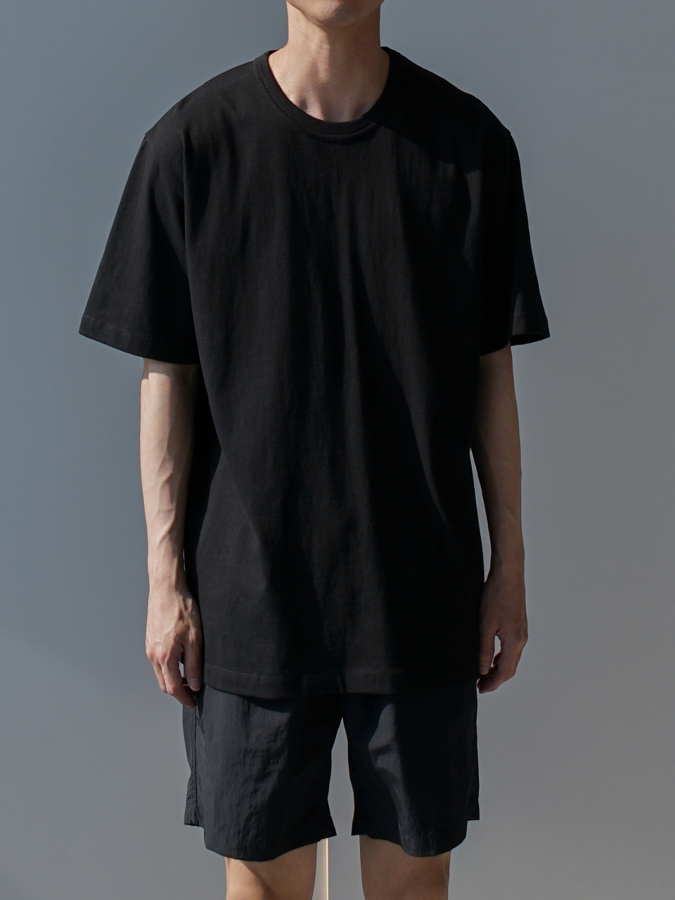 Log Essential Half Tee (10color)