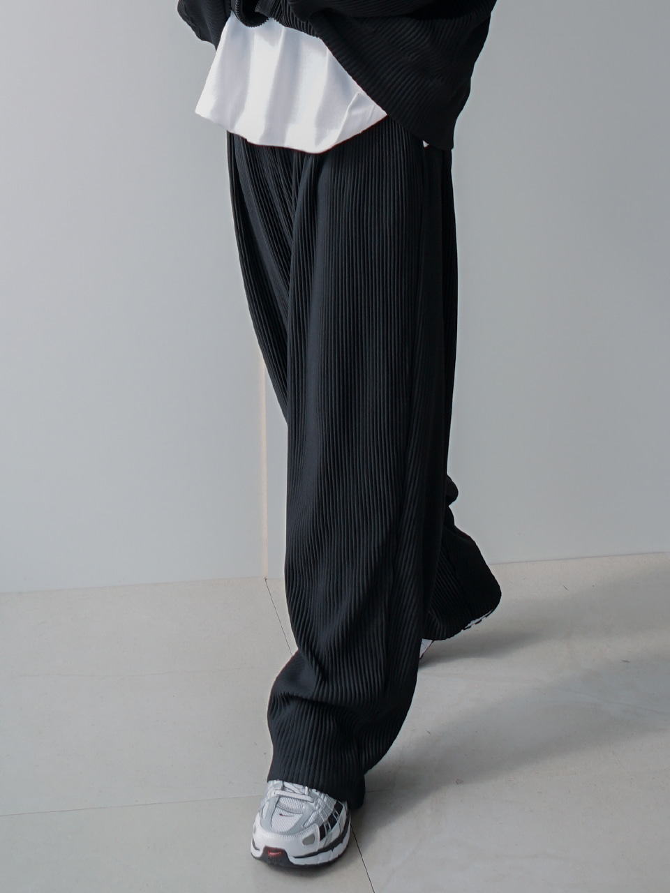Or Wide Pleats Pants (4color)