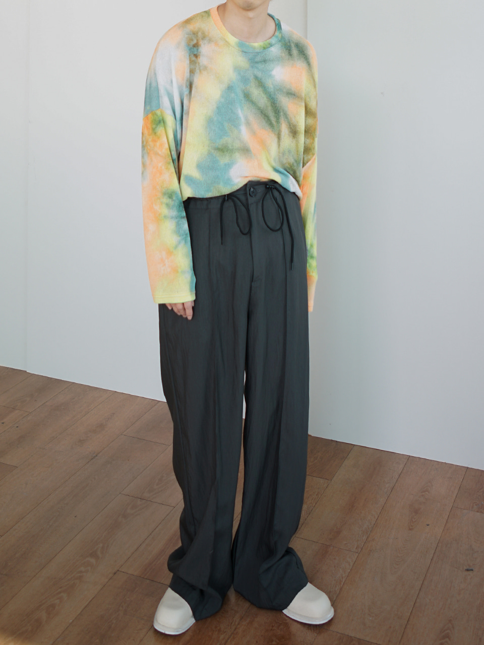 Flo Tie-Dye Linen Knit (2color)