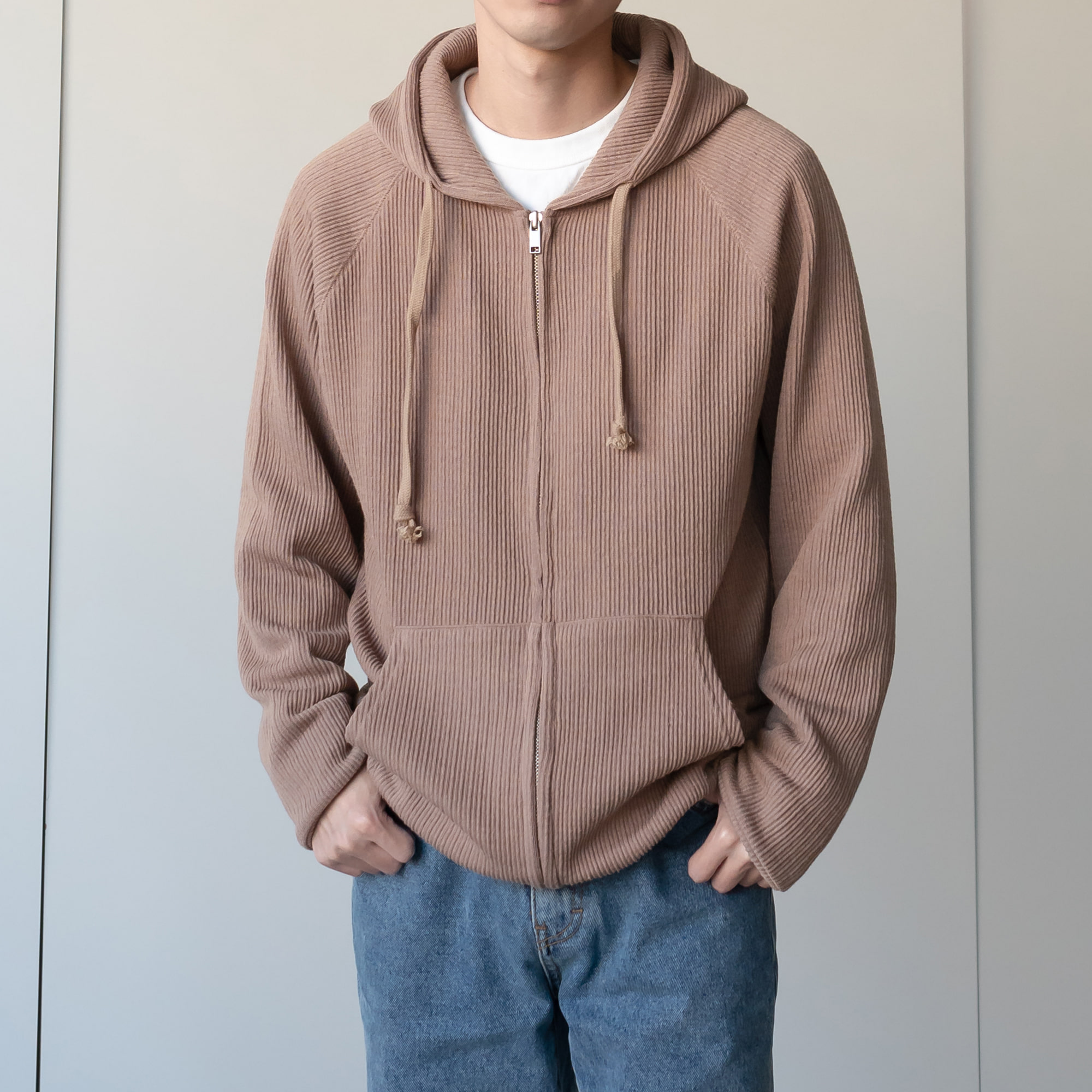 Millo Hooded Knit (4color)
