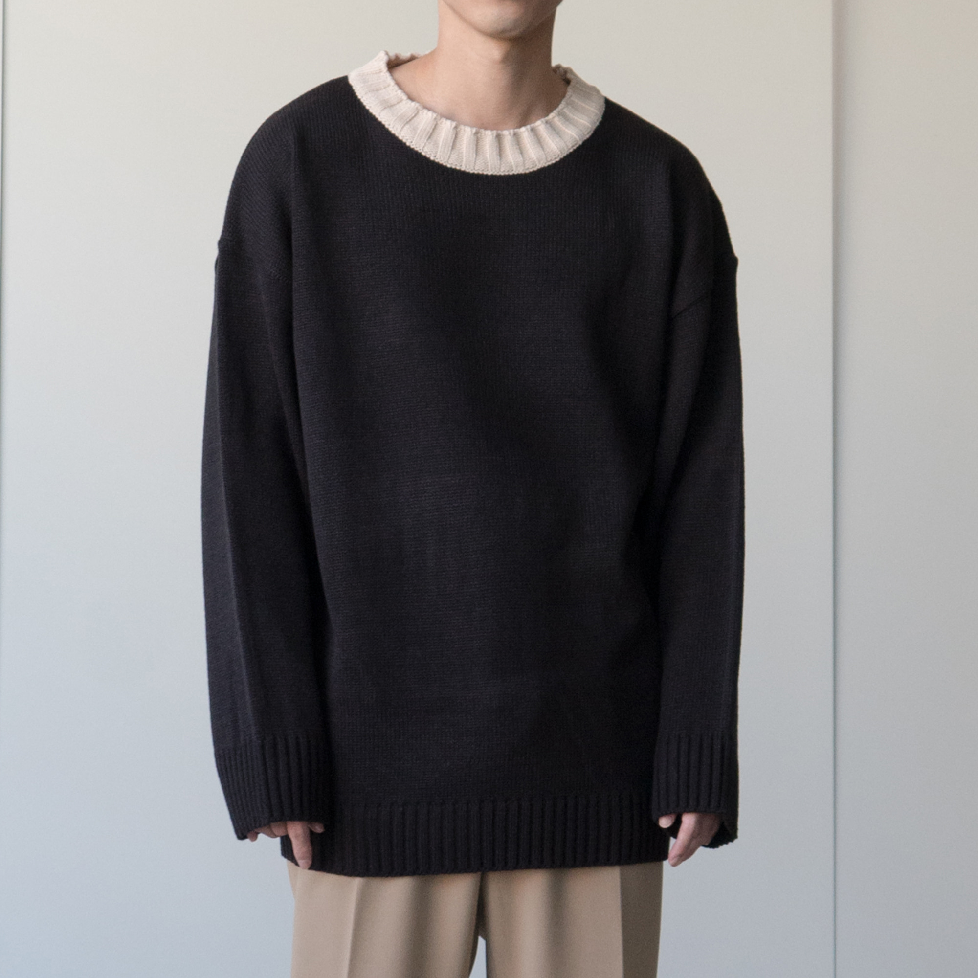 Two Tone Knit (3color)