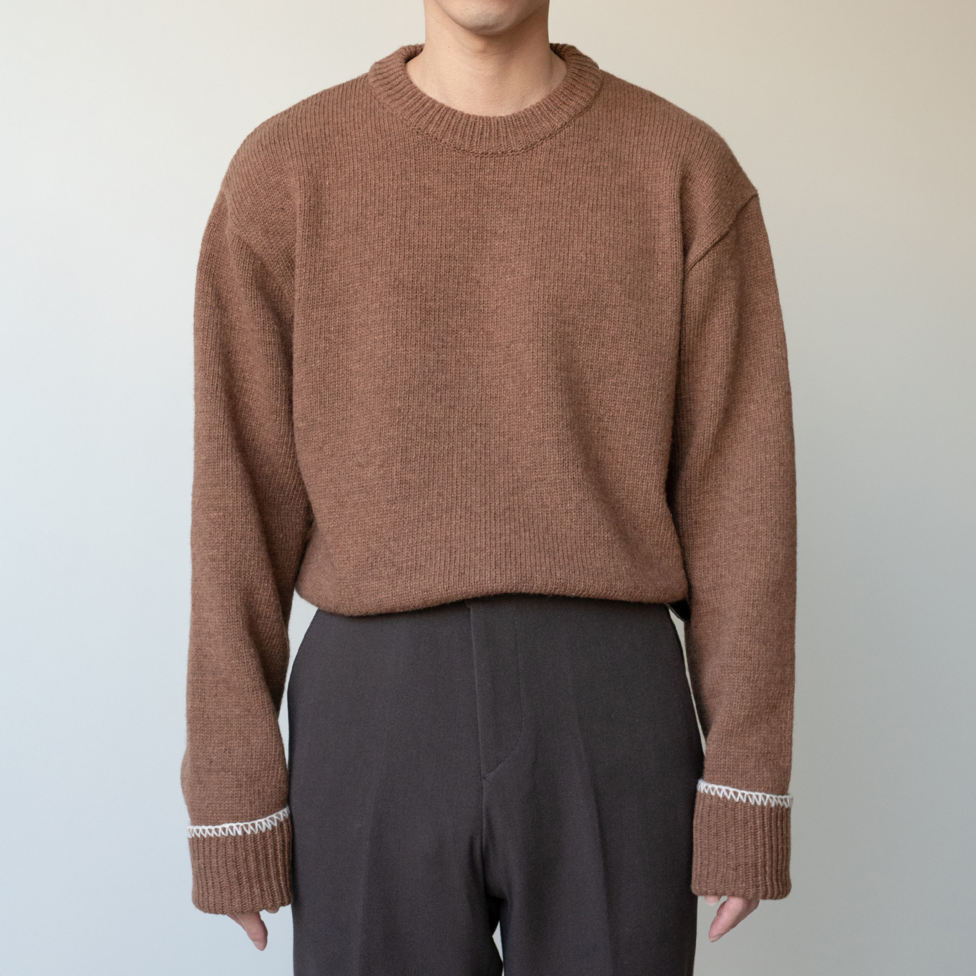 Hoem Stitch Knit (4color)