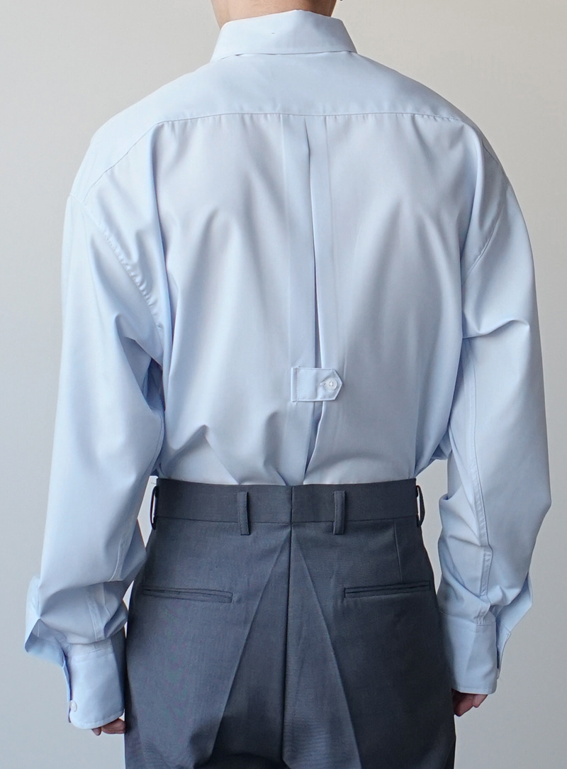 Millie Back Button Shirt (2color)