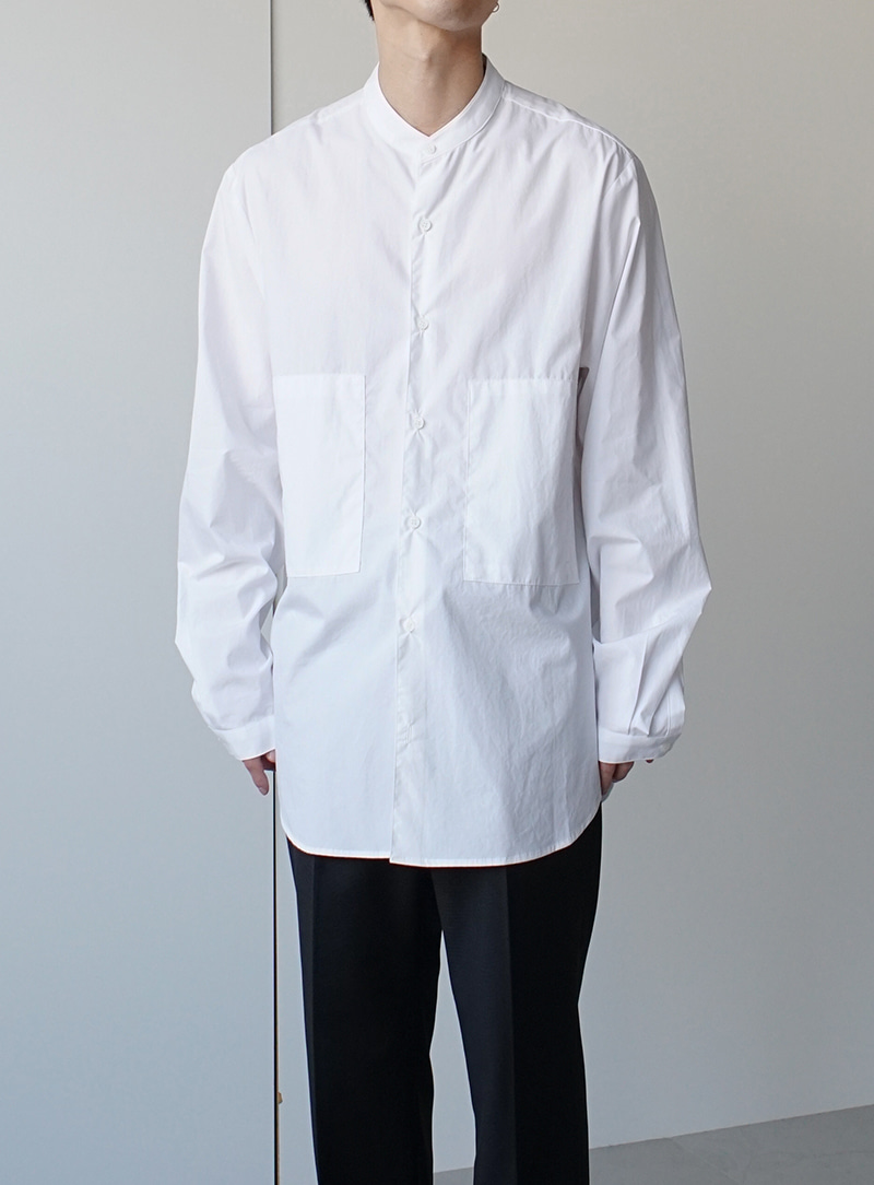 Sina Hidden Pocket Shirt (3color)