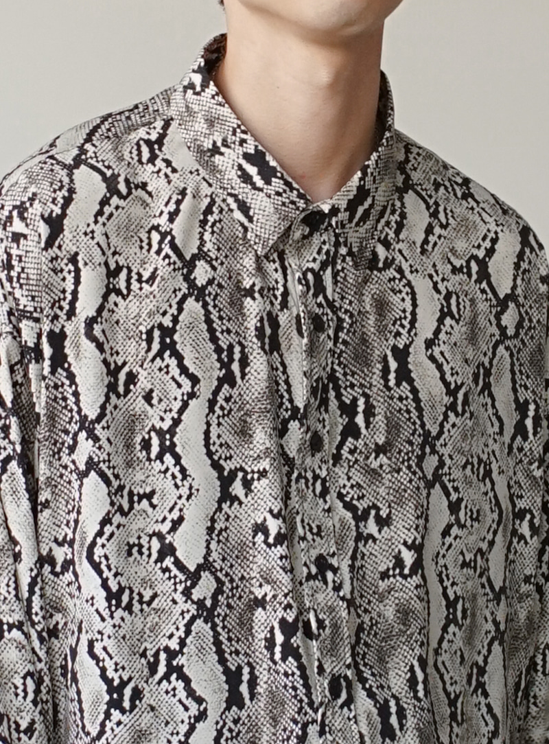 Snake Skin Shirt (2color)