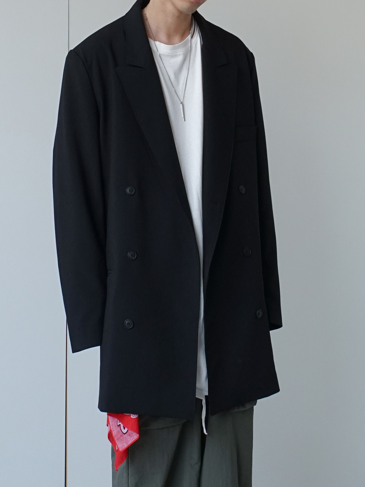 Daddy Long Double Blazer (3color)
