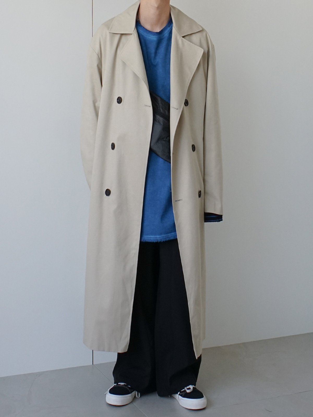 Focus Twill Trench Coat (3color)