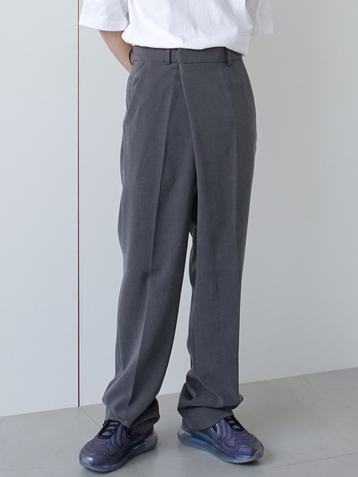 Dear Overlap Trousers (2color)
