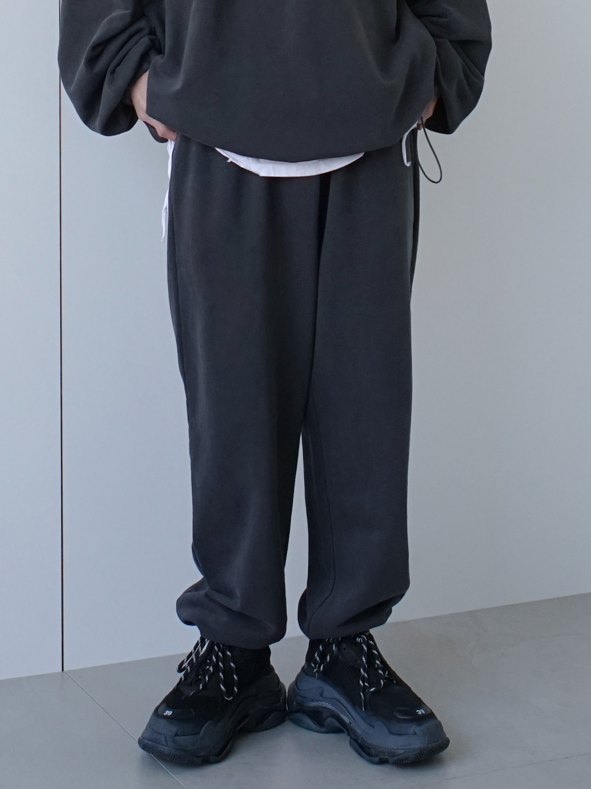 Ink String Sweat Pants (2color)