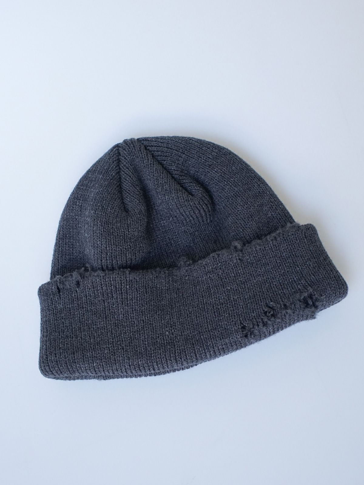 Damaged Short Beanie (3color)