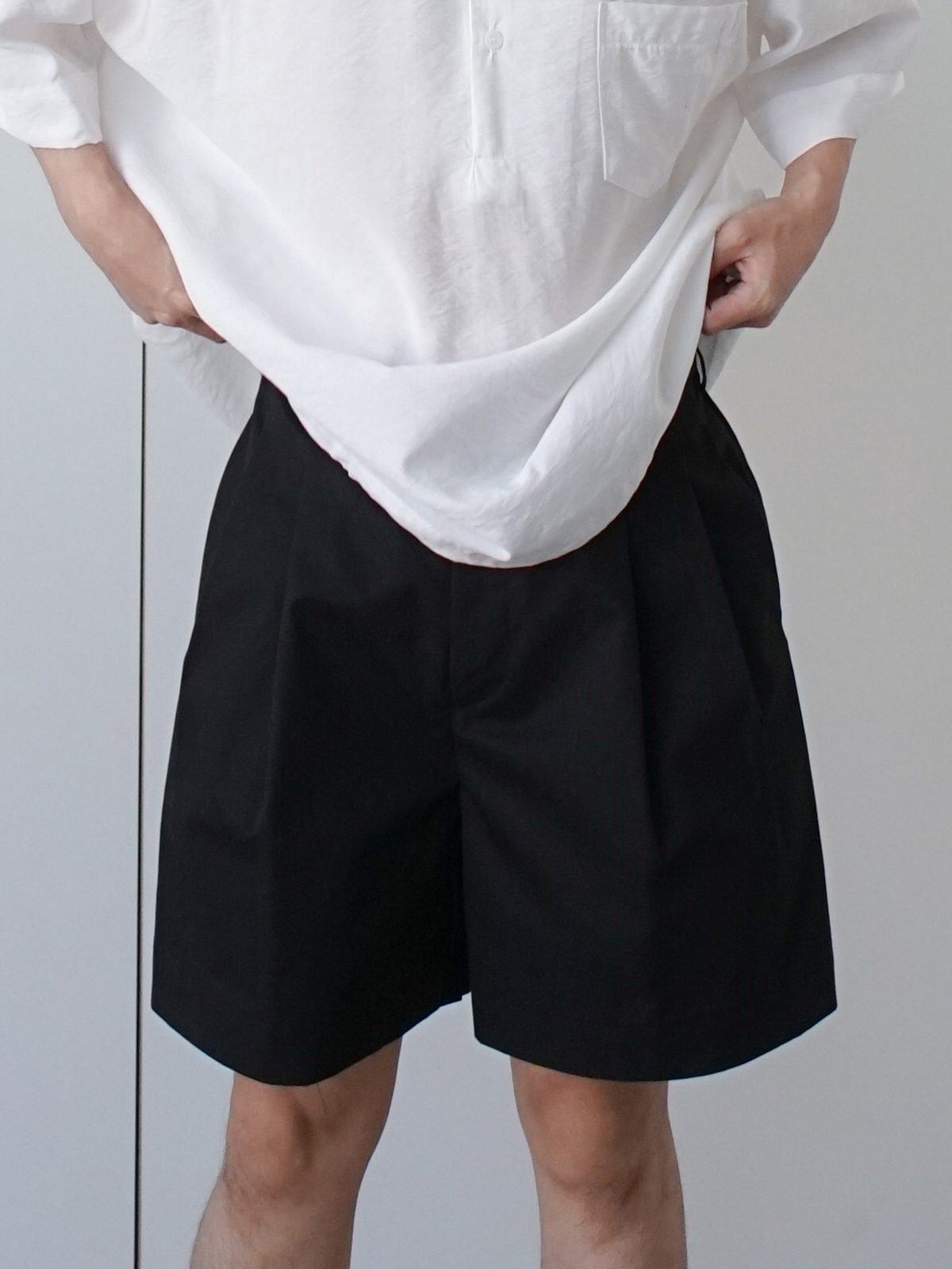 Cost Tuck Banding Shorts (4color)