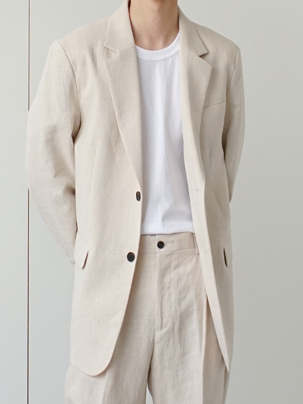 Prody Linen Blazer (2color)