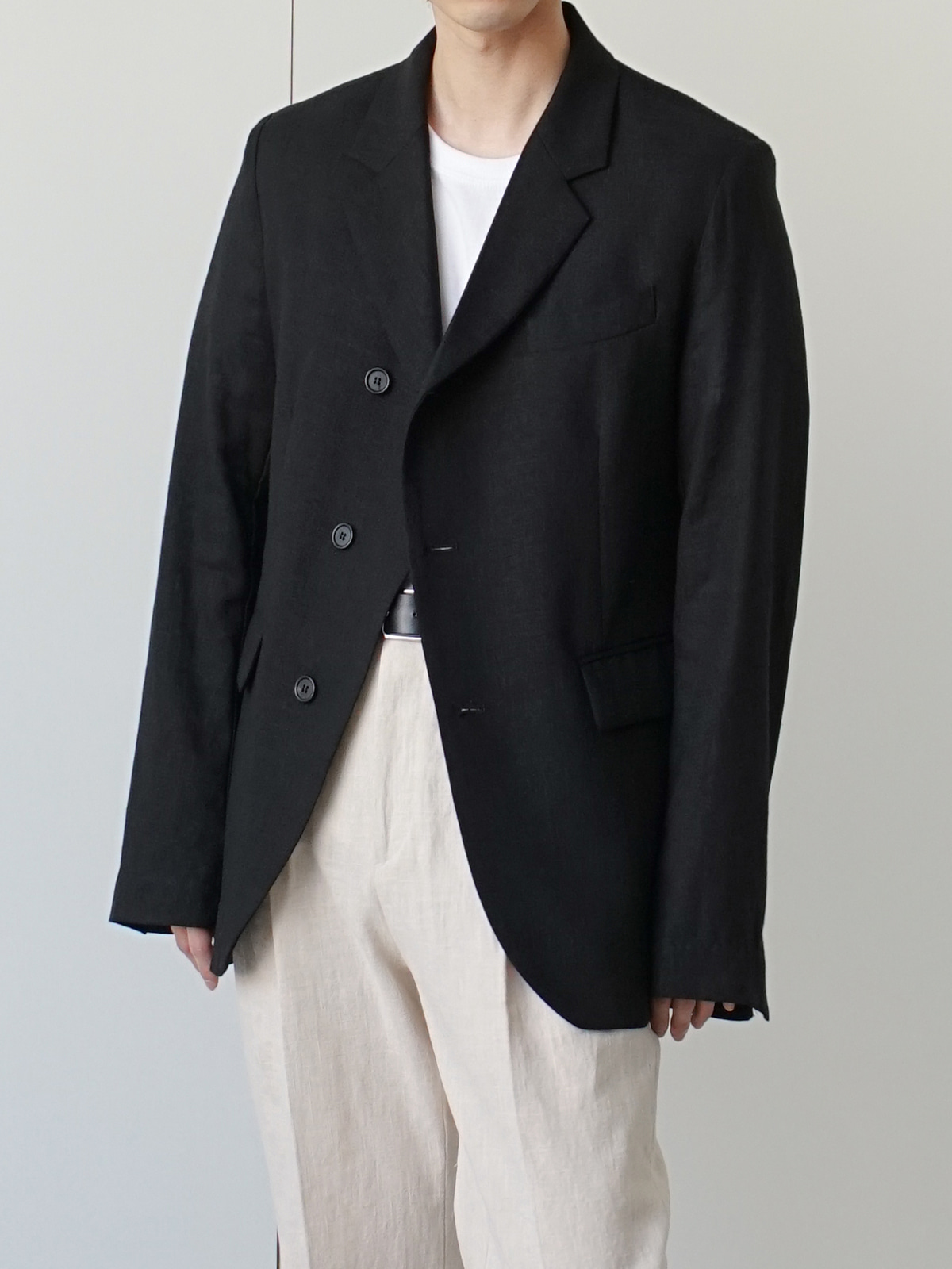 Noel Linen Blazer (3color)