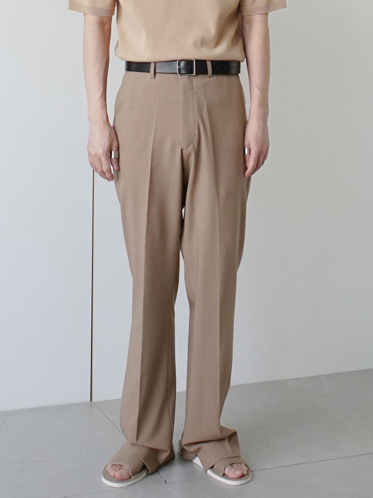 Week Vent Linen Trousers (3color)