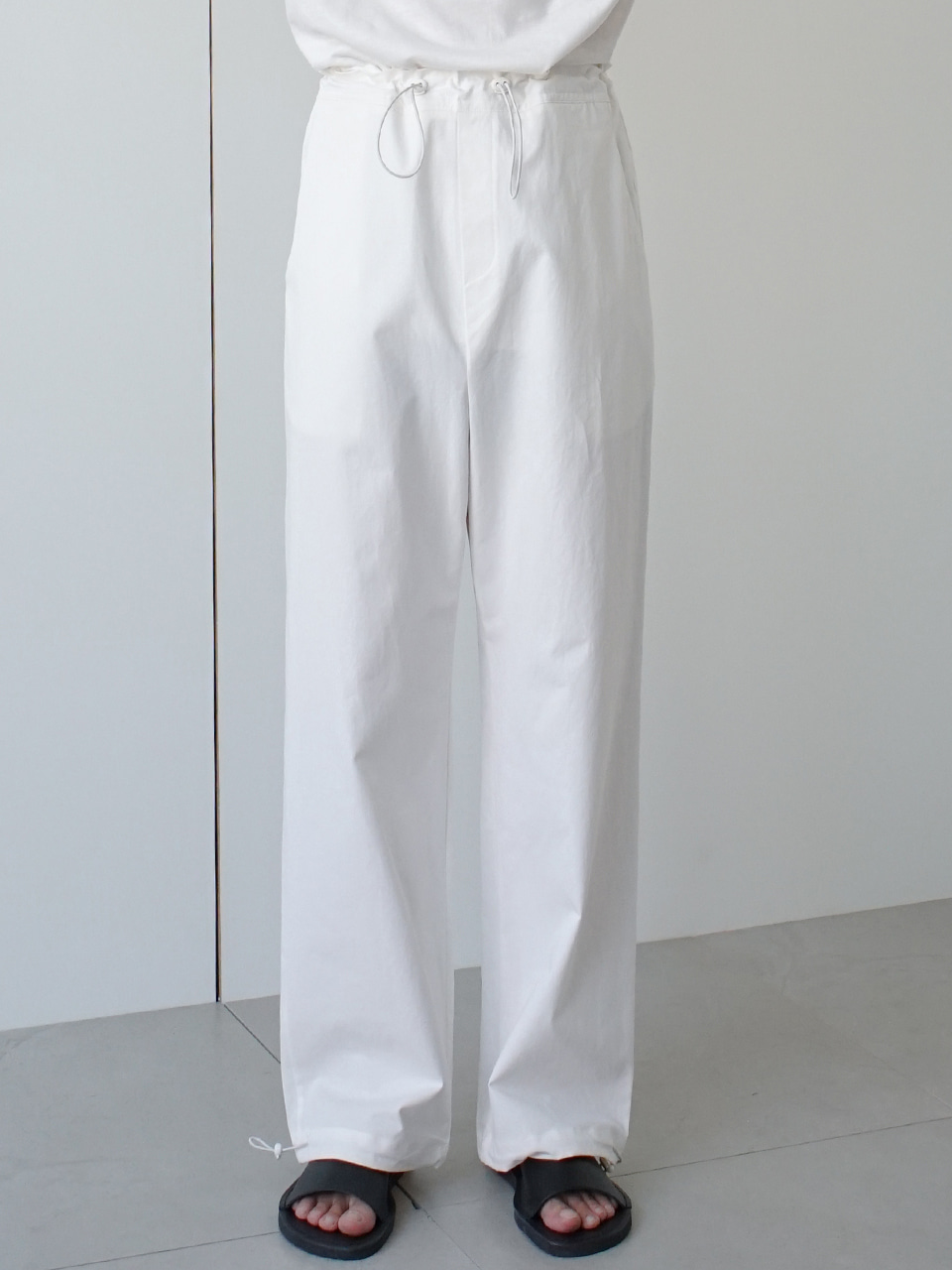 Relaxed String Trousers (2color)