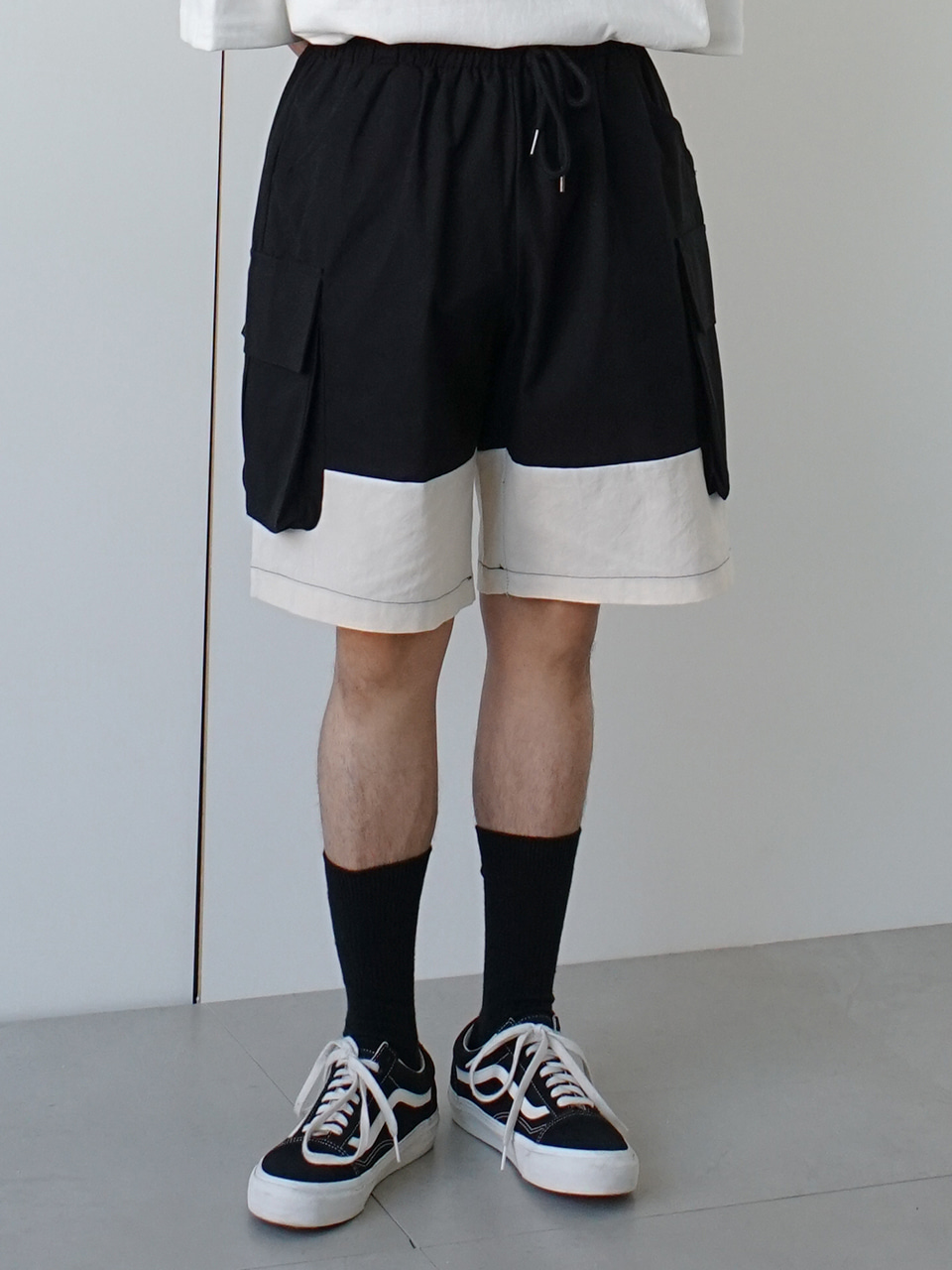 Border Cargo Pocket Shorts (2color)