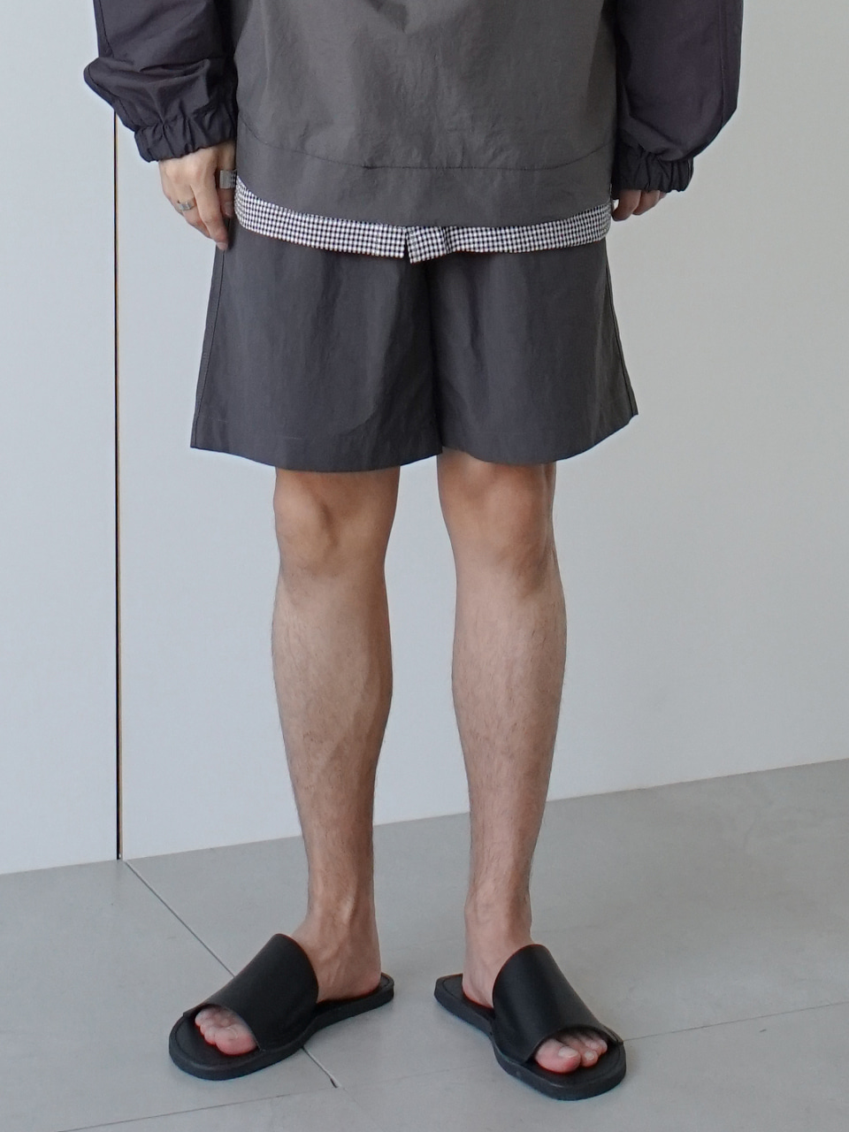 Leave Banding String Shorts (3color)