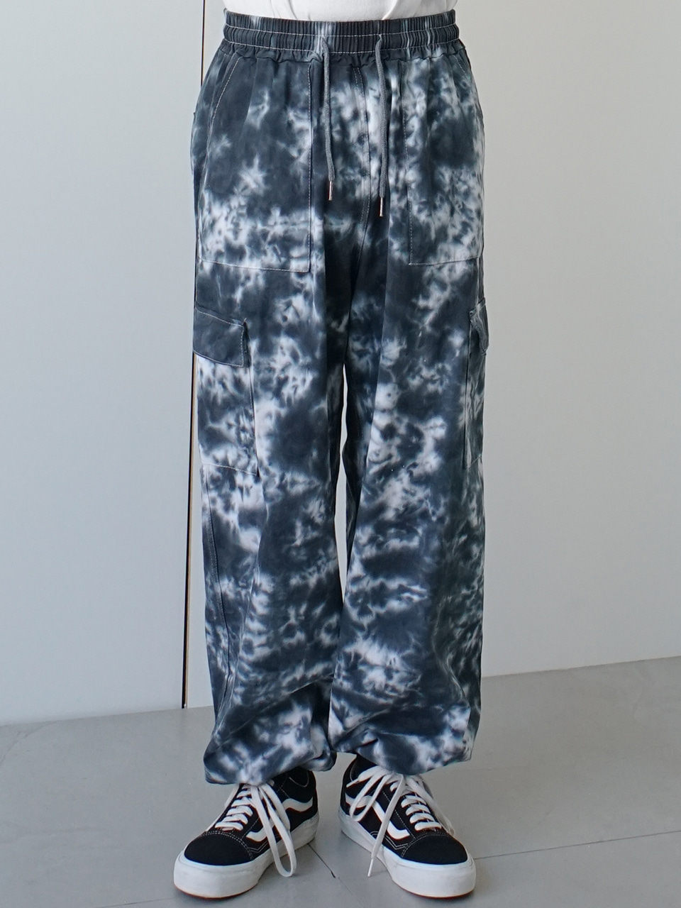 Bullet Tie-Dye Cargo Pants (2color)