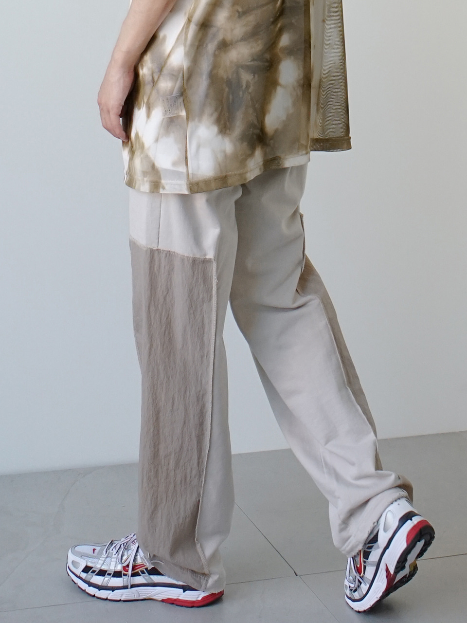 Add Washed Track Pants (2color)