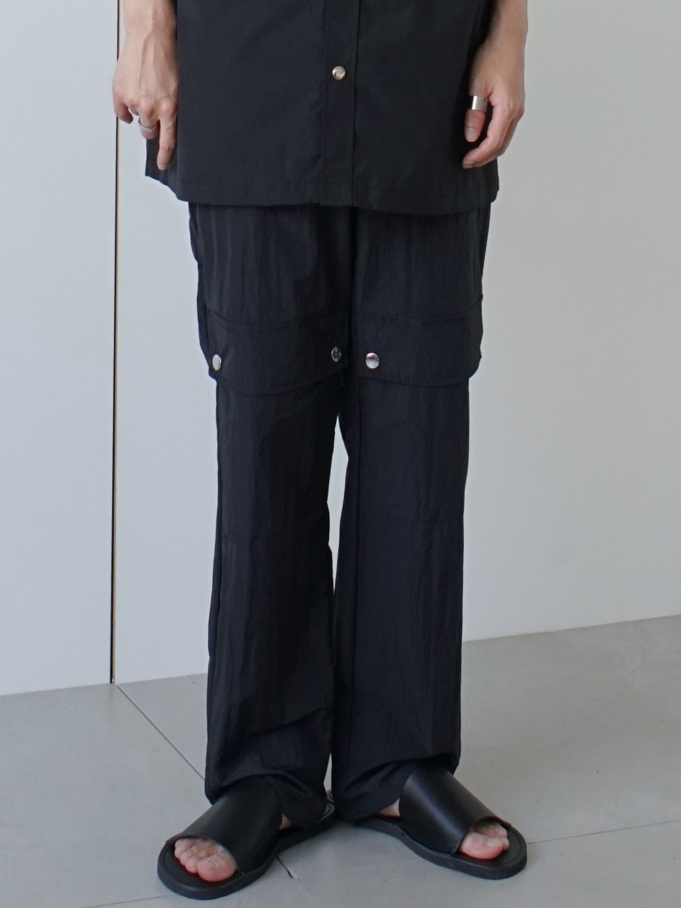 Mute Front Pocket Track Pants
