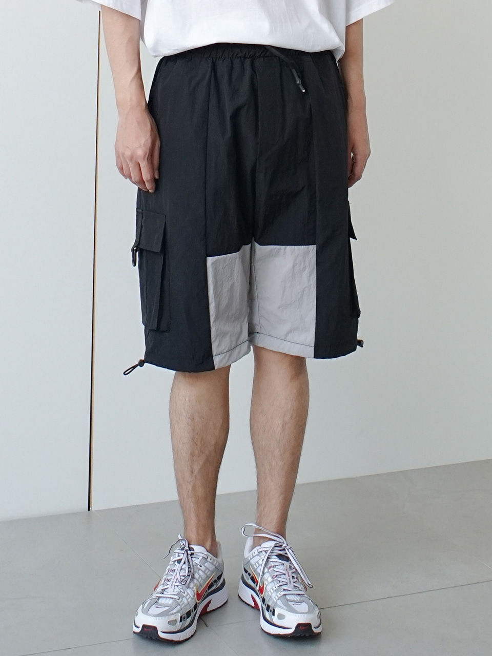 Letics Block Cargo Shorts (2color)