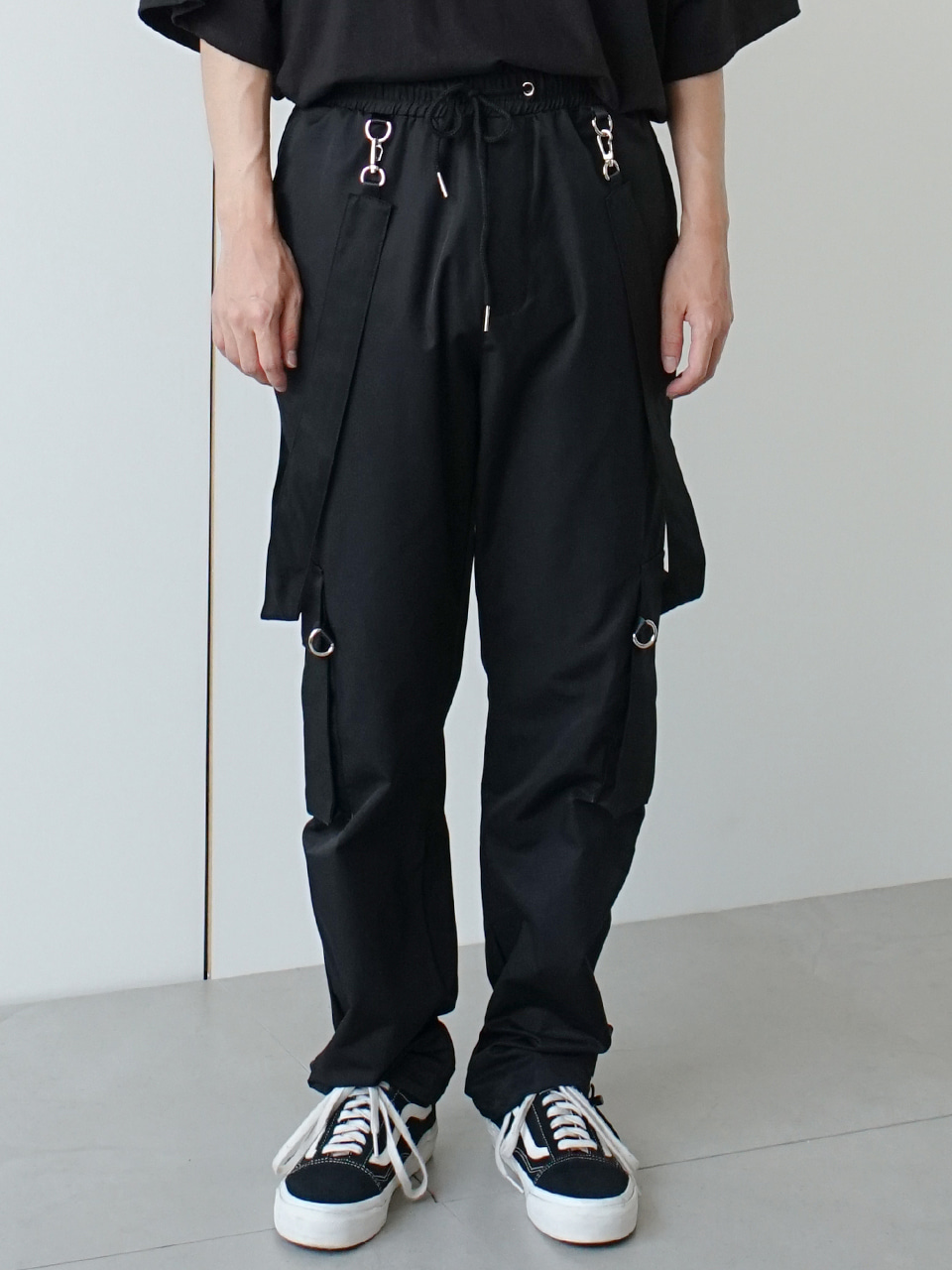 Ringa Strap Cargo Pants (2color)