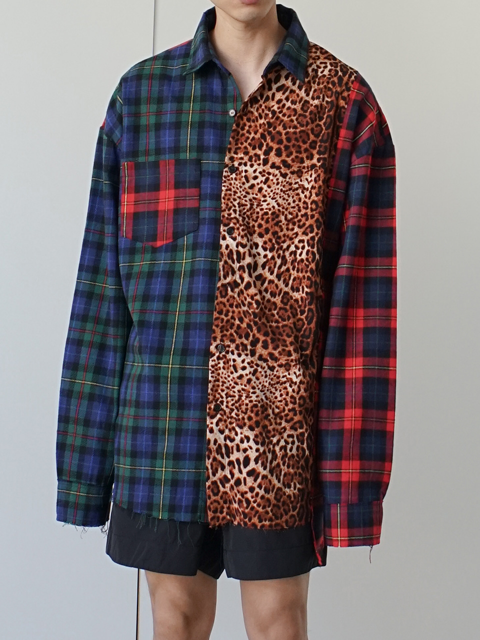 Rug Mixed Patchwork Shirt