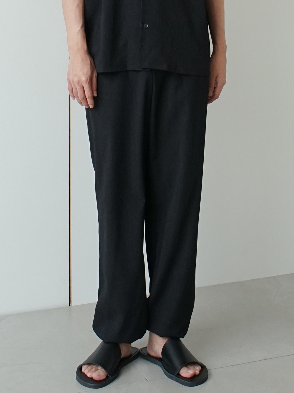Treat Pleats Jogger Pants (2color)