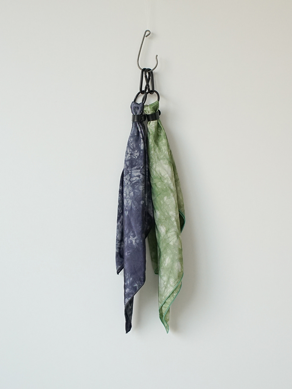Kit Tie-Dye Scarf Keyring (2color)