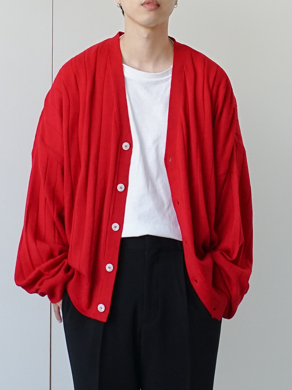 Track Lite Blend Cardigan (4color)