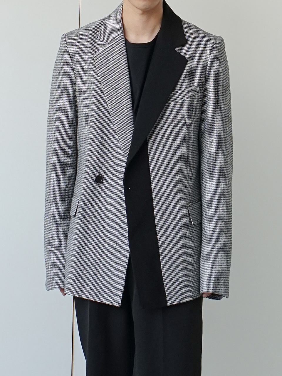 Coob Mixed Half Double Blazer (2color)