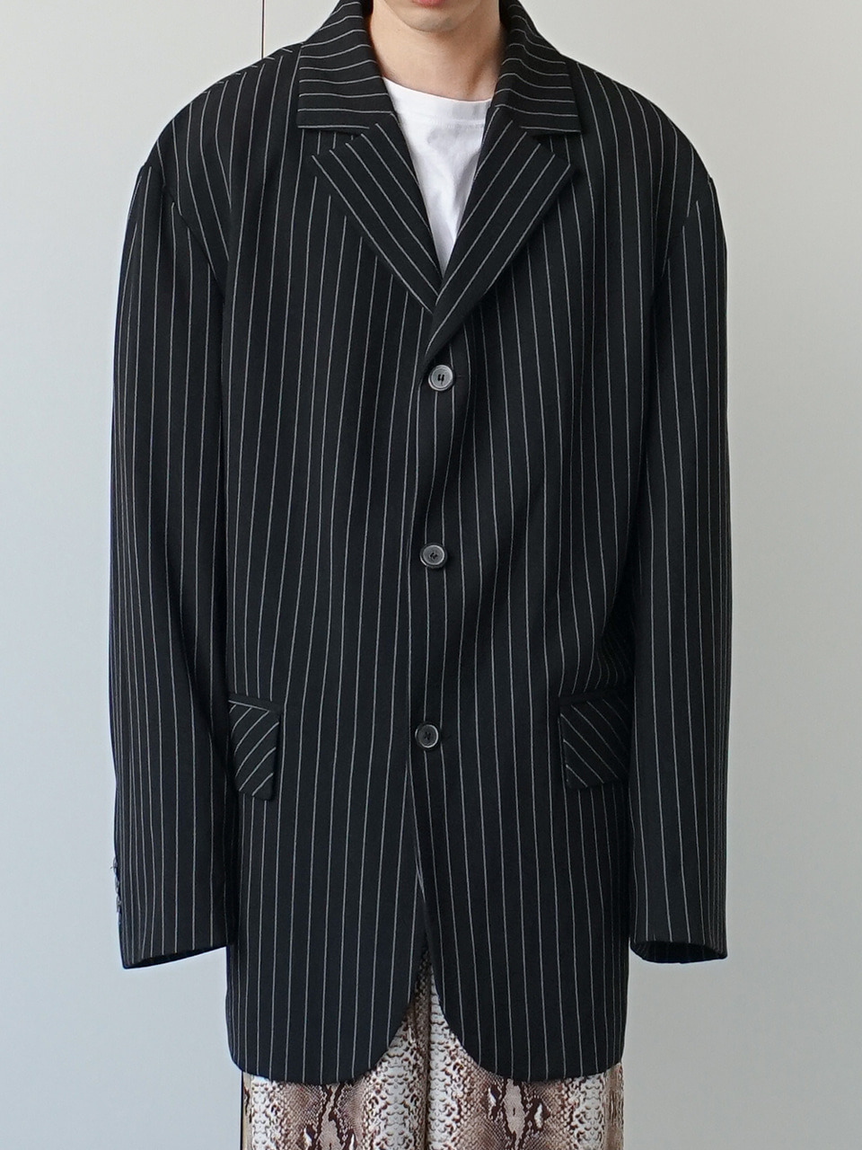 Court Stripe Over Blazer (2color)