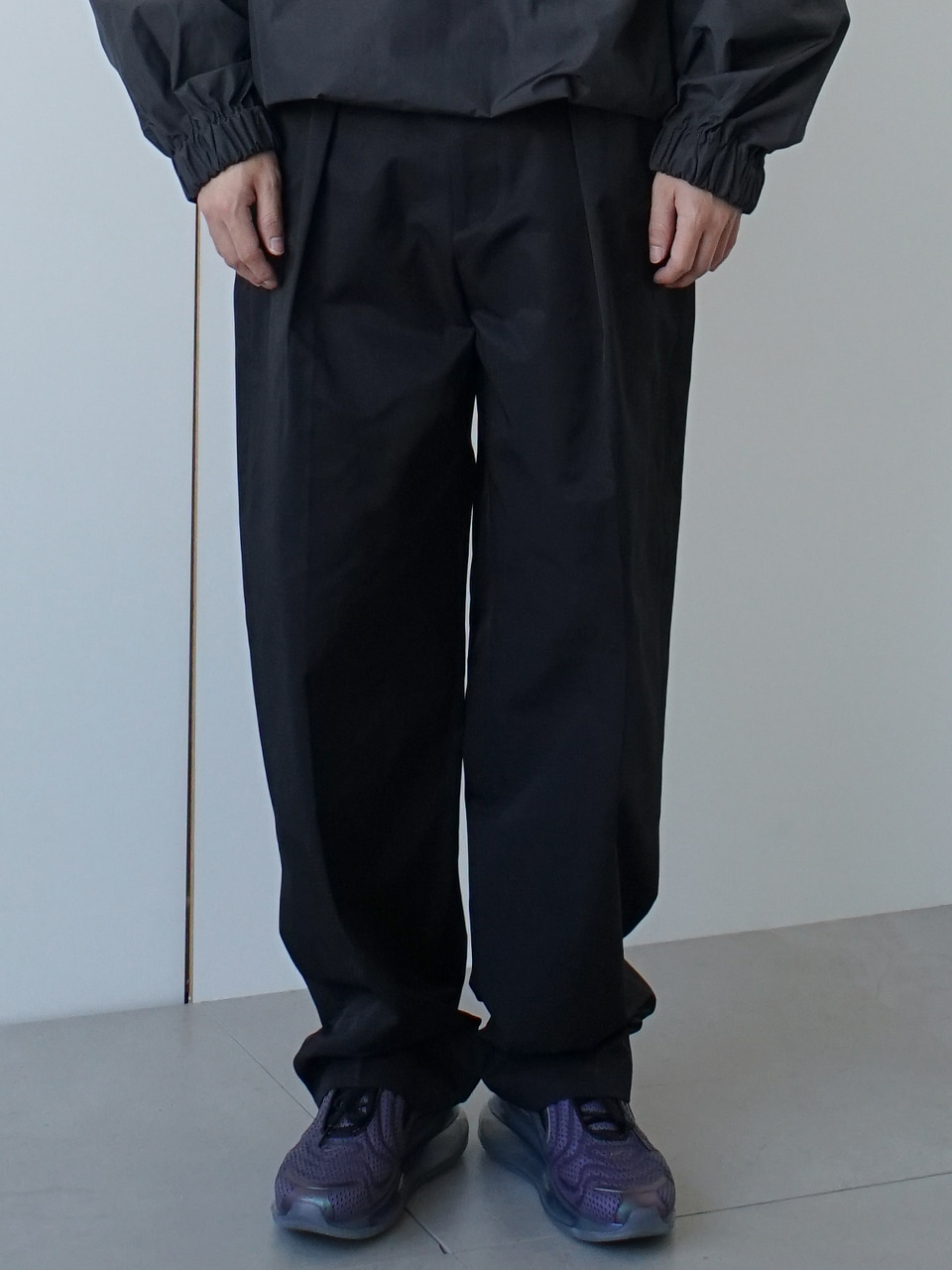 Cox Pintuck Relaxed Trousers (2color)