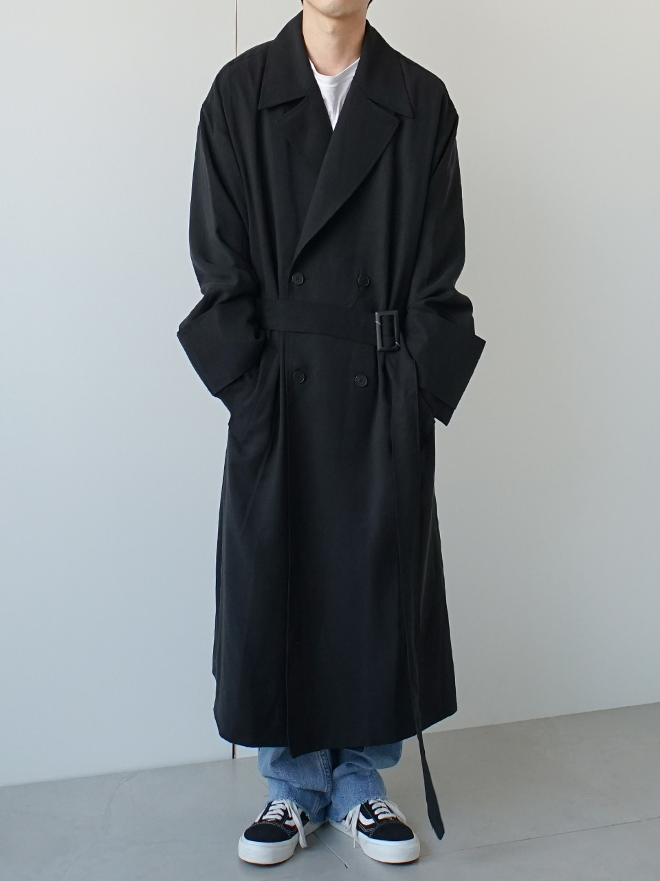 Munch Side Vent Trench Coat (2color)