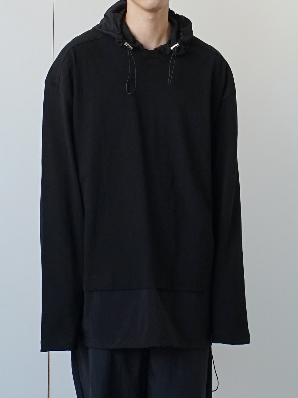 Nas Attached Hoodie (3color)