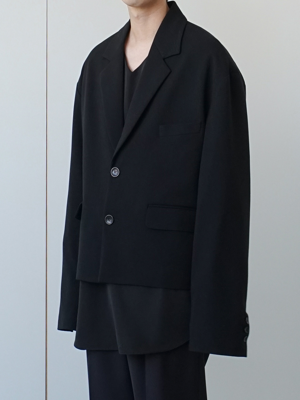 Marriott Cropped Blazer (3color)