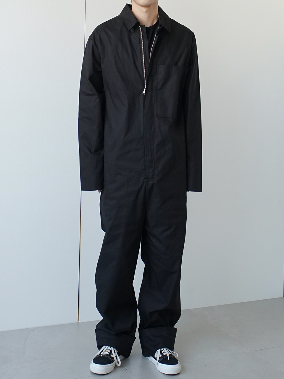 Ener Zip Front Coveralls (2color)