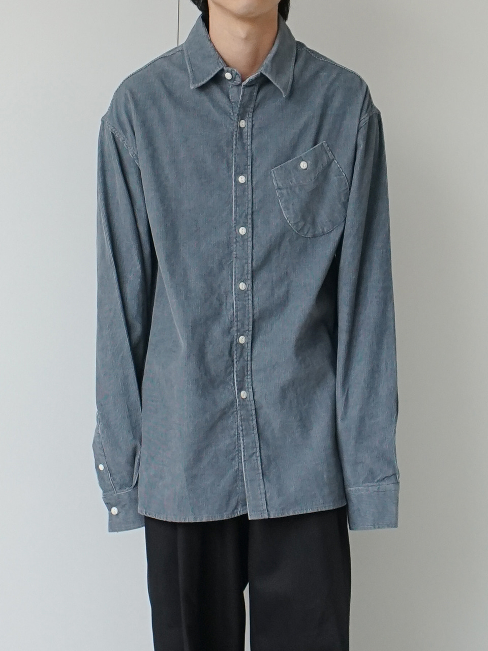Reilly Relaxed Corduroy Shirt (4color)