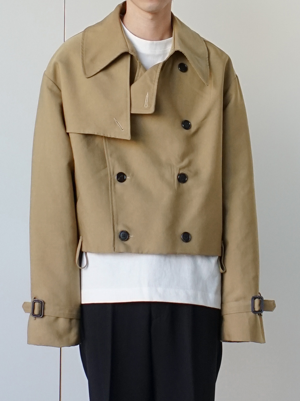 Ocean Short Trench Coat (2color)
