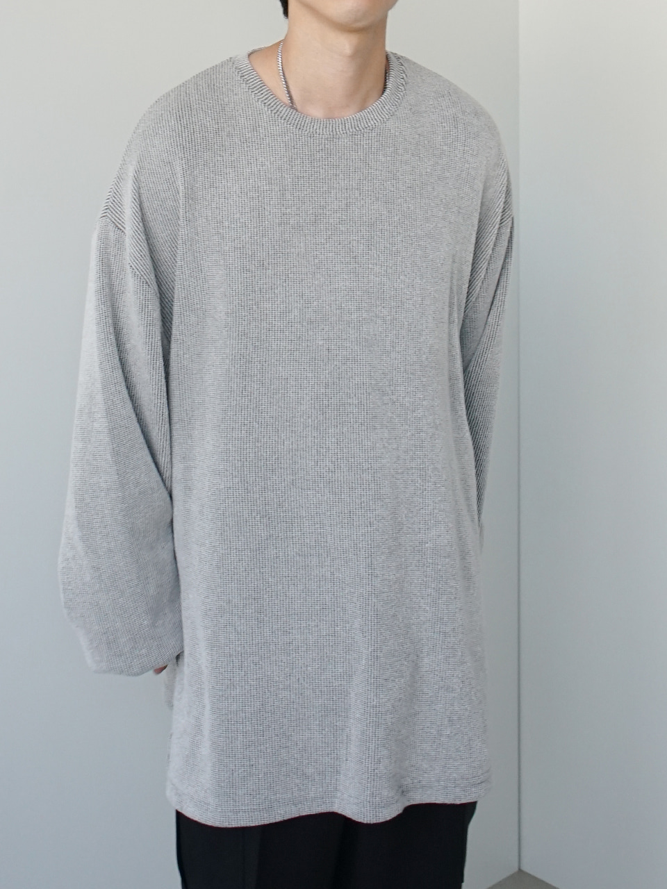 Upon Side Vent Oversized Knit (4color)