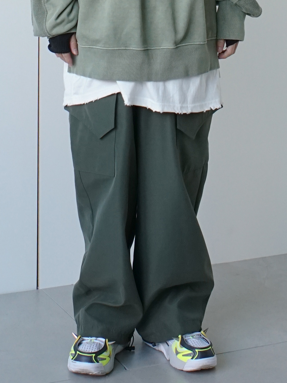 Riot Cargo Track Pants (3color)