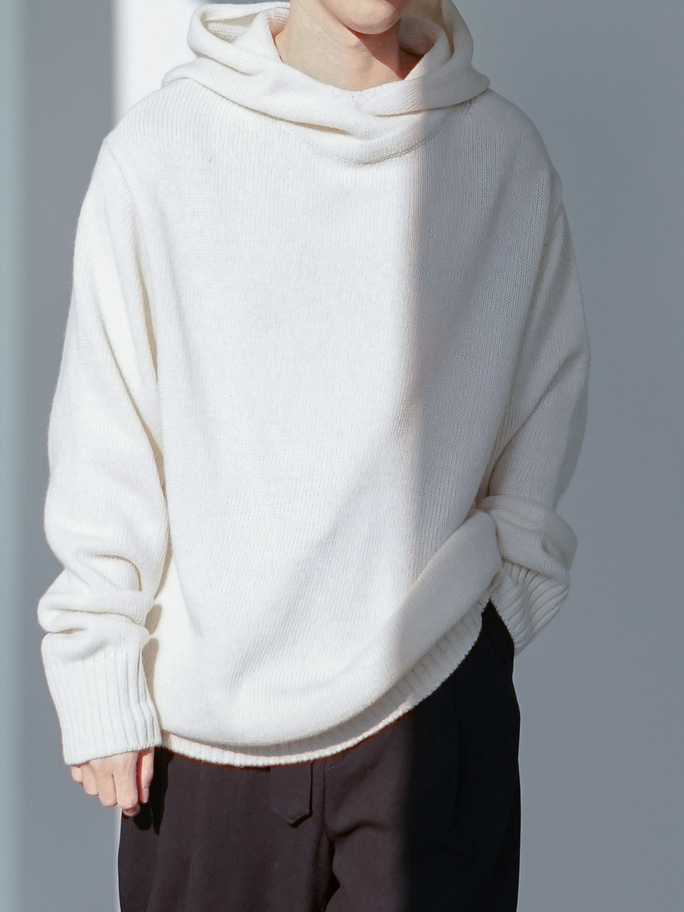 Pier Knitted Hoodie (3color)
