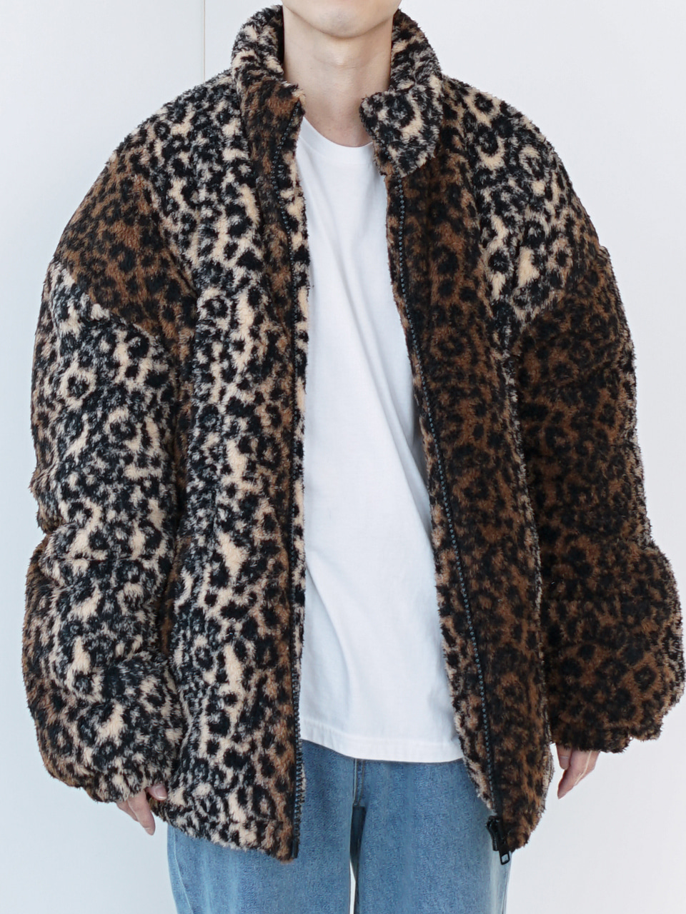Reeves Leopard Patterned Jacket (2color)