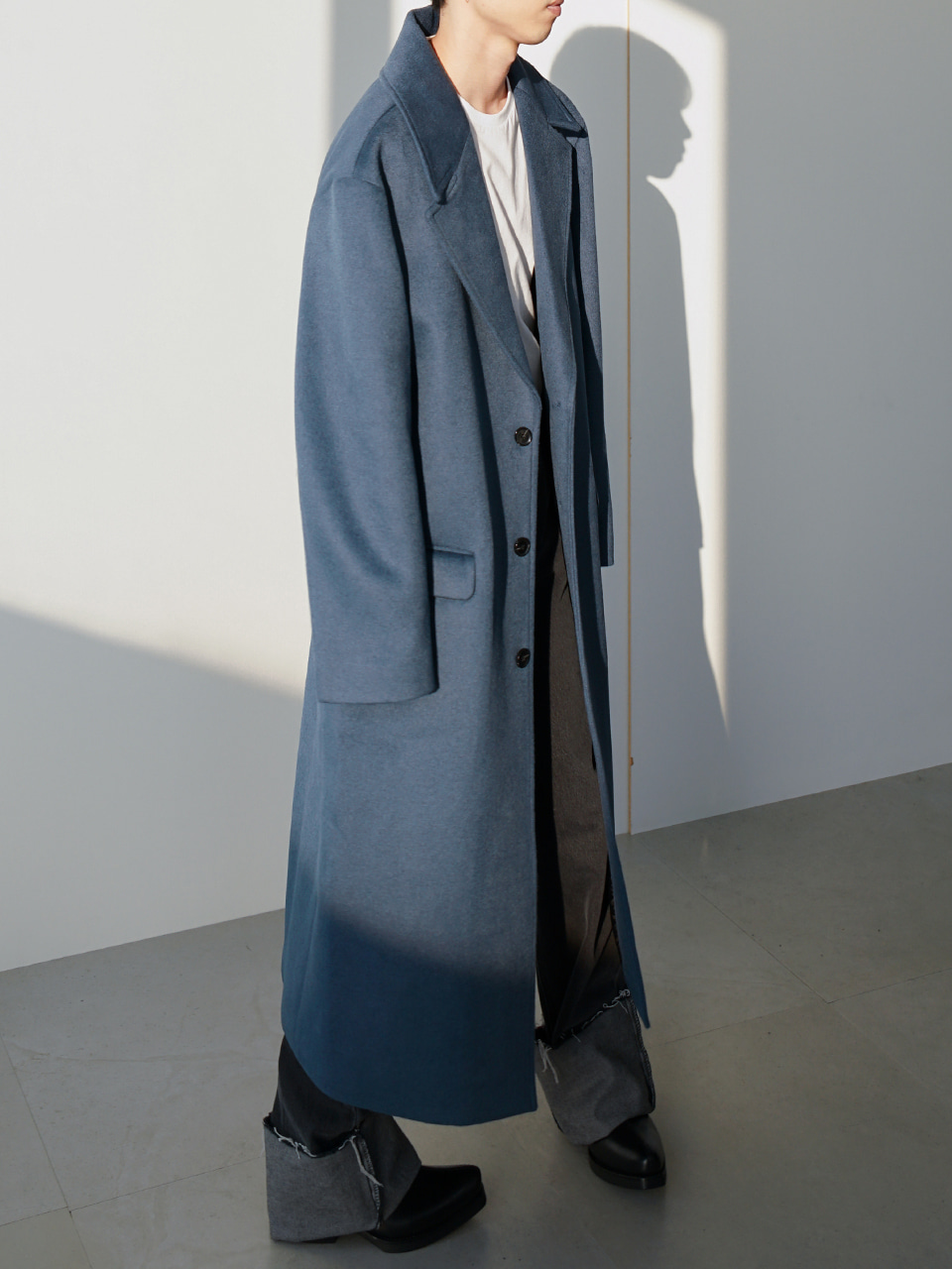 Cala Relaxed Long Coat (2color)