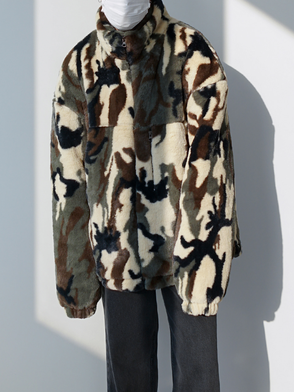 Catch Quilt Lined Camo Jacket